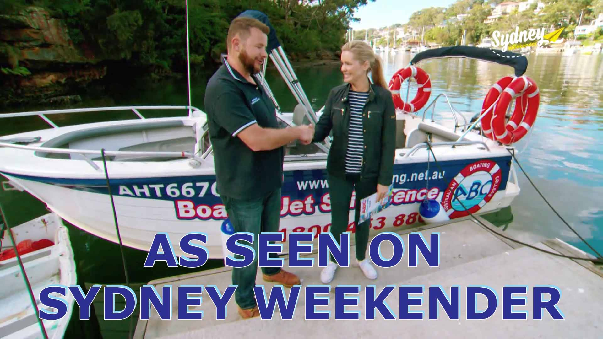 Australian Boating College on Sydney Weekender